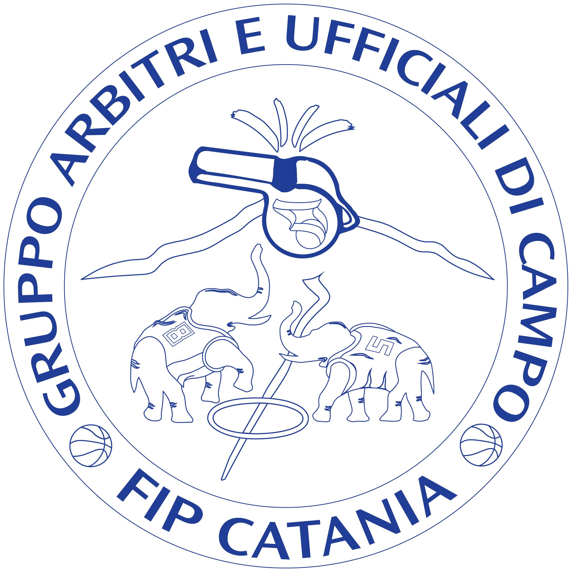 logo outline blu