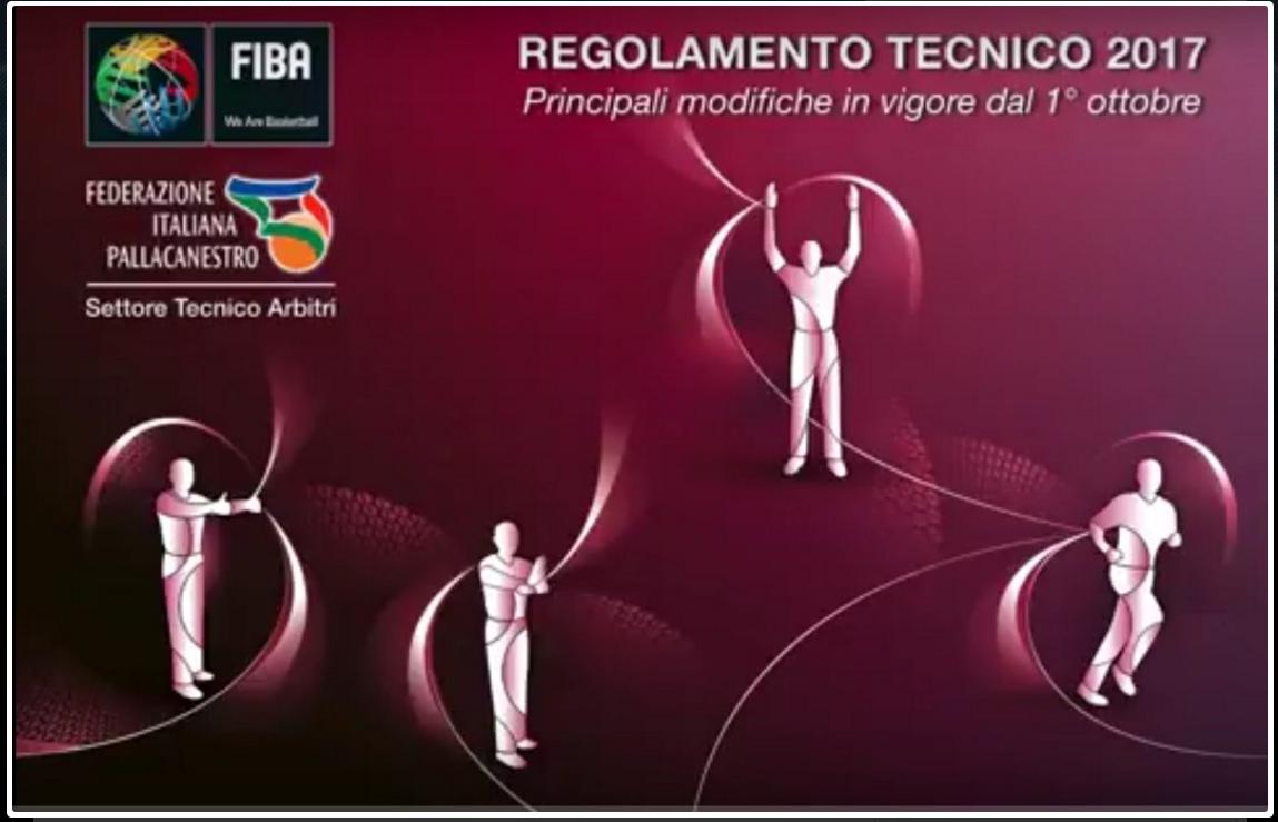 Regolamento Tecnico FIBA-VARIAZIONI