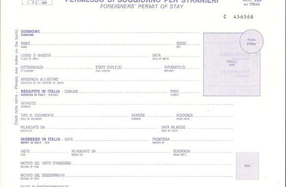 Il permesso di soggiorno è valido quale documento di riconoscimento ...