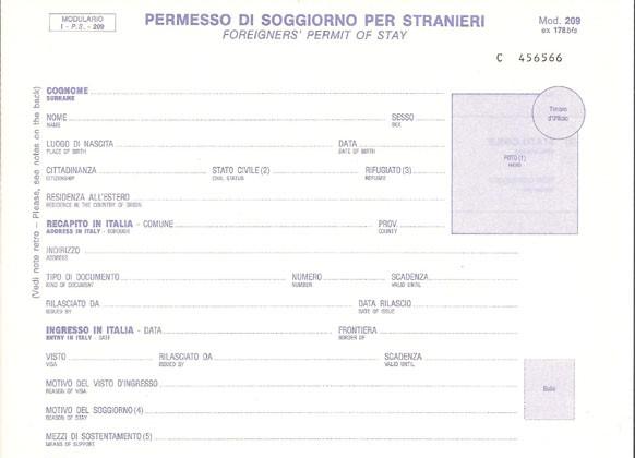 Il permesso di soggiorno è valido quale documento di ...